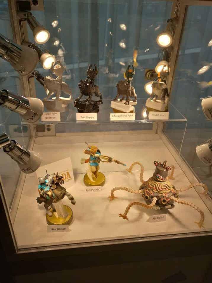 Zelda Breath of the Wild - le set Amiboo
