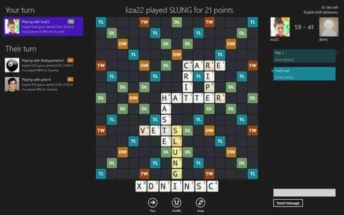 Wordfeud - la compétition mondiale de Scrabble sur Smartphone