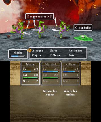 Un système de combat ultra simple mais bien fichu.