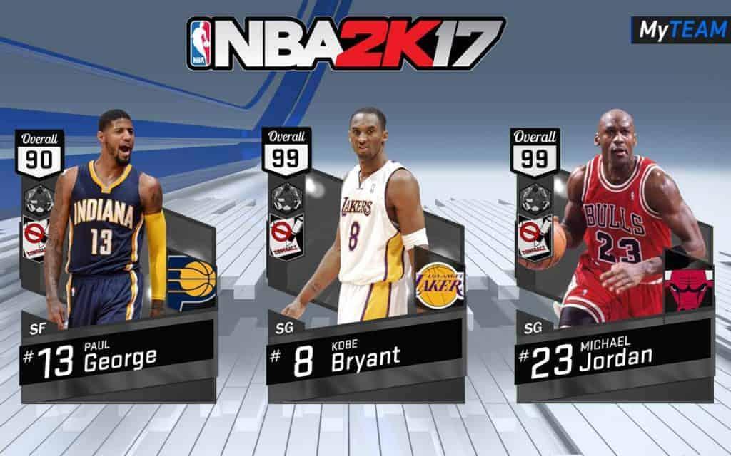 Imaginez Jordan, Bryant et George dans la même équipe... j'en ai des frissons