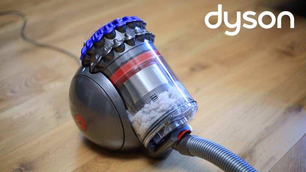 Dyson Big Ball - Le système de vidange est des plus pratique