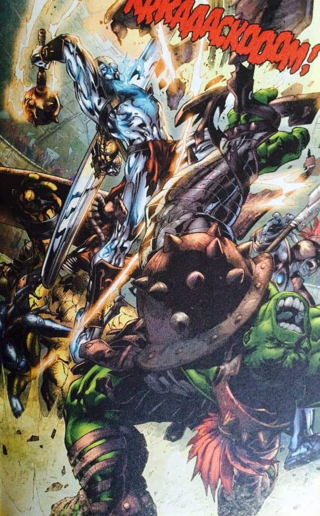 Le surfeur d'argent fera les frais de la colère d'Hulk.