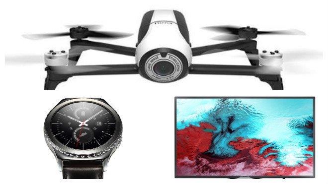 bon plan tv drone et montre connect e et tablette. Black Bedroom Furniture Sets. Home Design Ideas