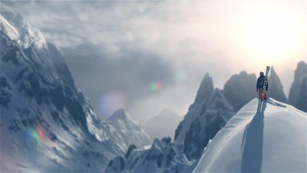 Steep - Des montagnes à perte de vue.