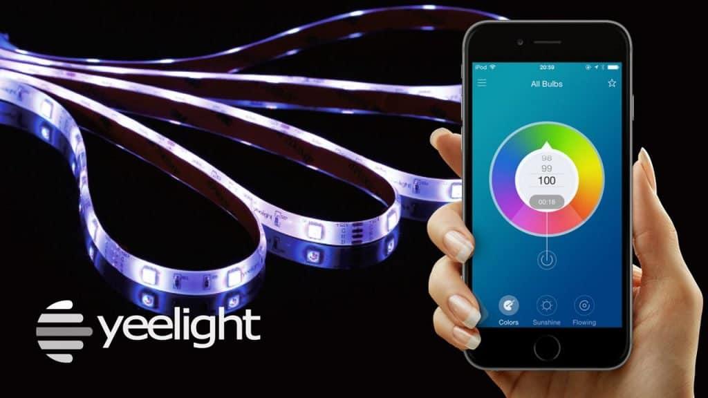 Xiaomi Yeelight light strip - la guirlande de Noël la plus geek