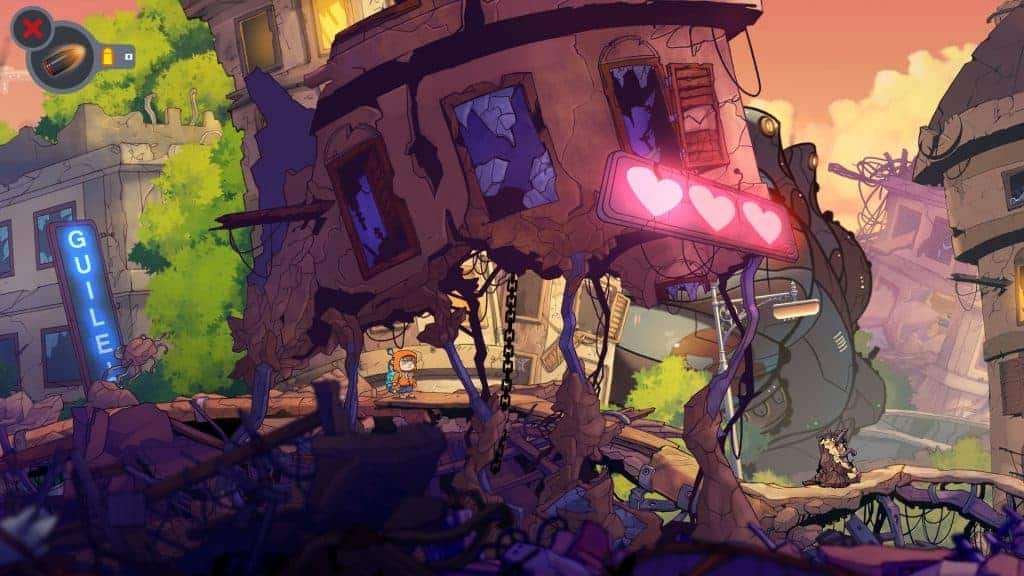 Rise & Shine - L'effet cartoon est juste superbe.