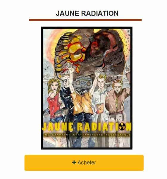 Jaune Radiation