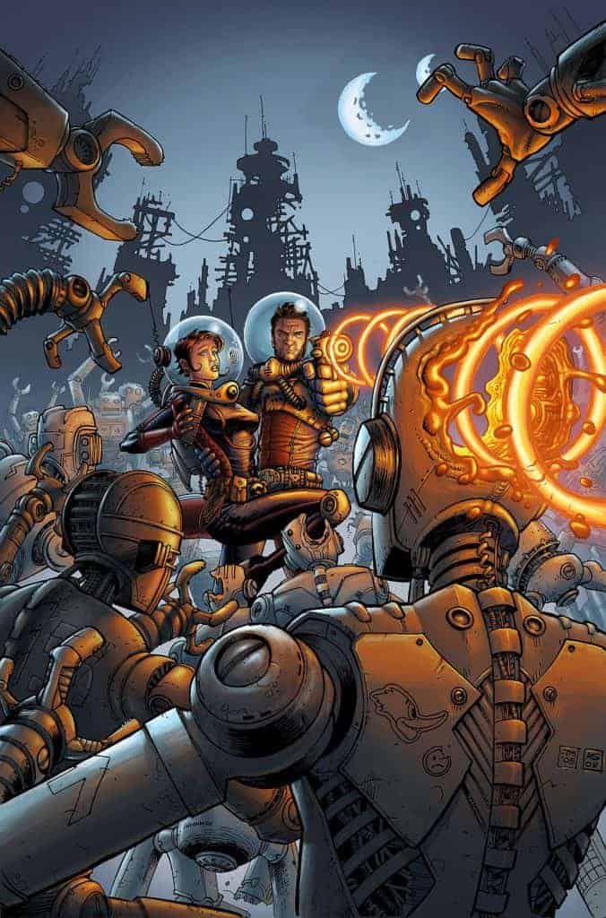 Fear Agent - Des dessins superbes !