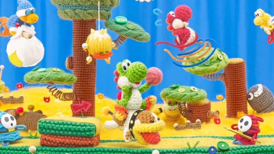 Yoshi's Wooly World - Si c'est pas mignon !