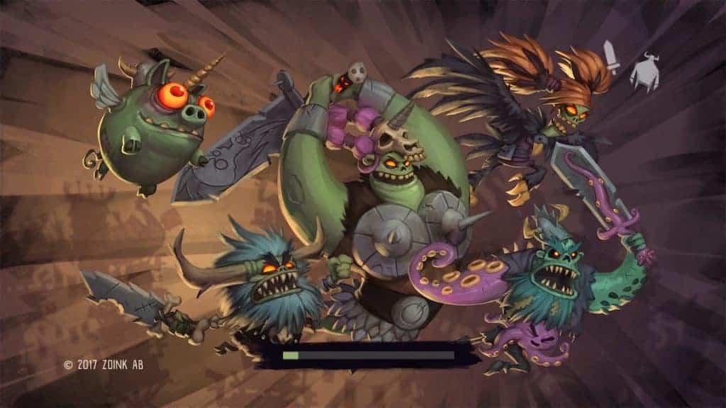 Zombie Viking - Sacré chargement de départ.