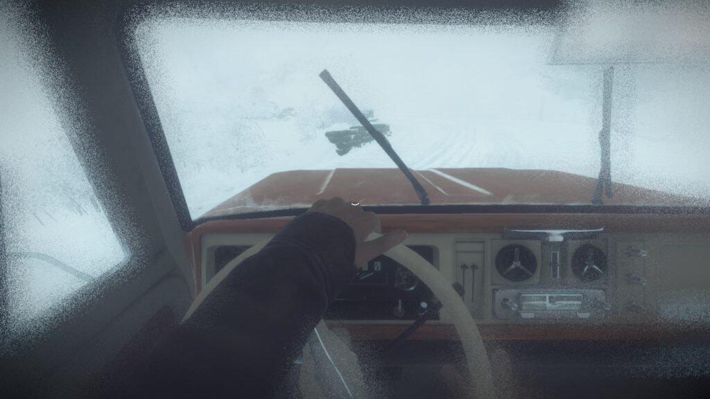 Si vous regardez bien au niveau de la main du chauffeur il y a un chargement. Pas cool.