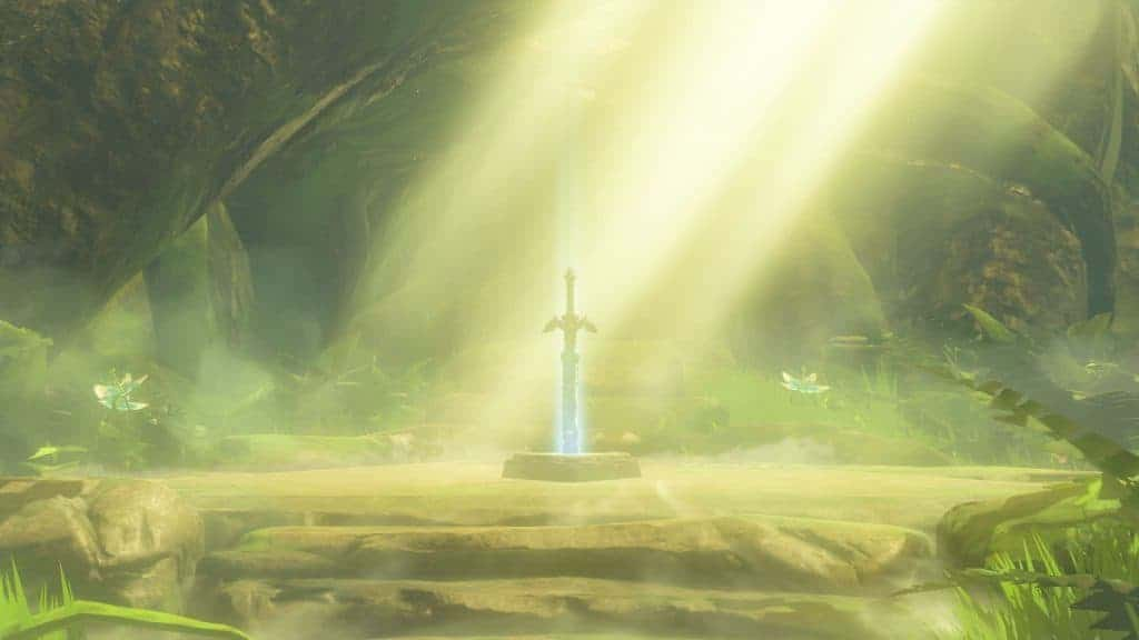 The Legend of Zelda Breath of Wild - La master sword est de la partie