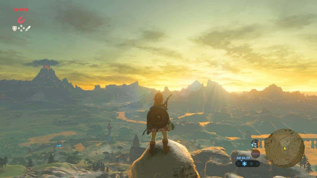 The Legend of Zelda Breath of Wild - Retrouvez Link dans un open world immense