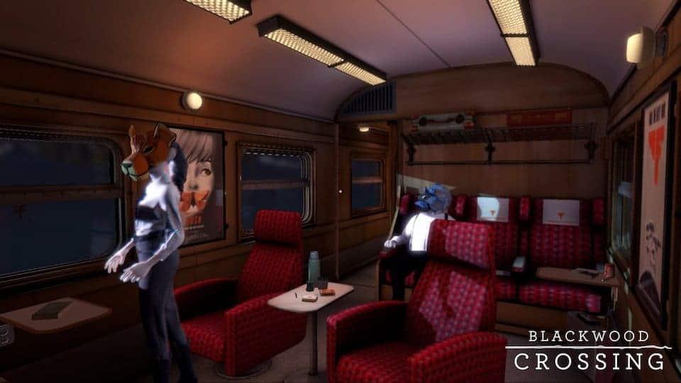 Blackwood Crossing - Vous allez devoir comprendre ce qu'est exactement ce train.