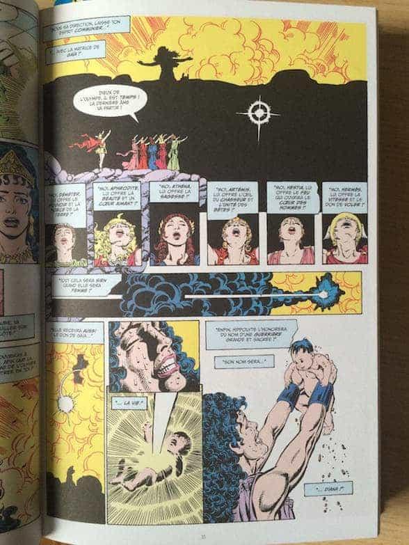 La naissance de Diana