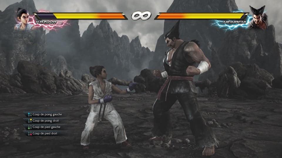 Tekken 7 - Interpréter Kazuya enfant est assez original.