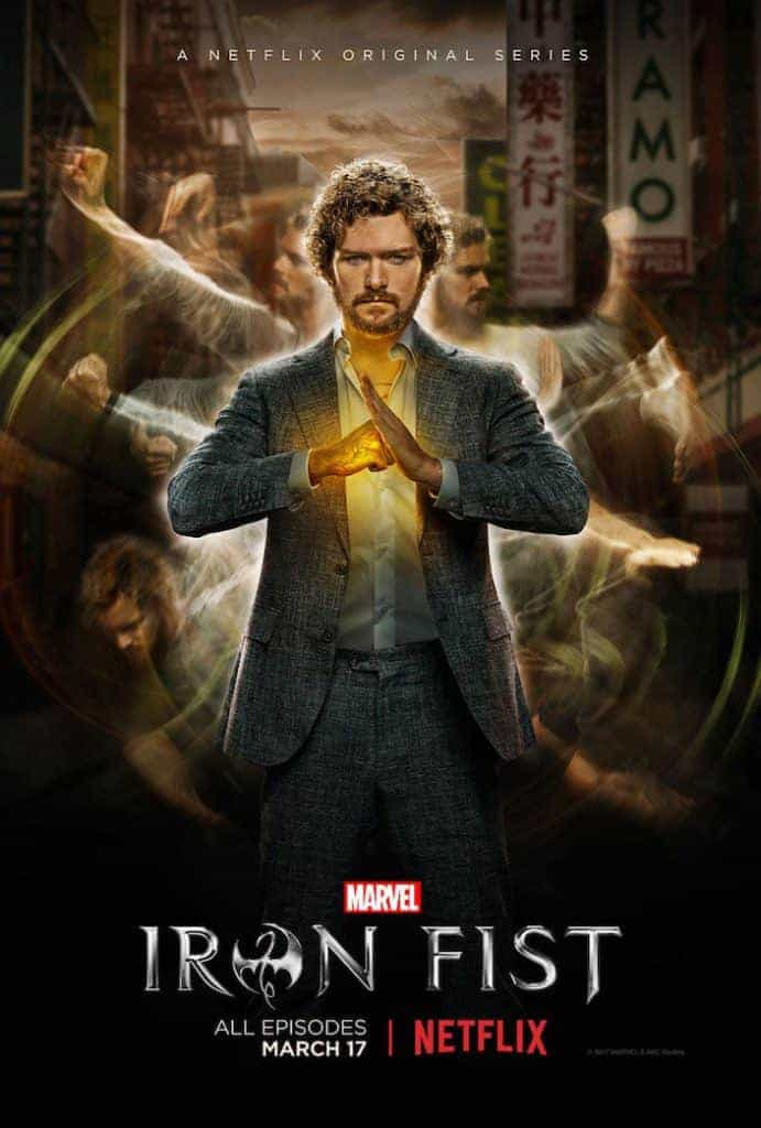 Iron Fist - Une série qui avait du potentiel mais qui à été bâclée.