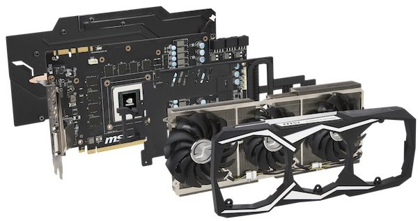 GTX 1080 Ti - Un refroidissement extrême