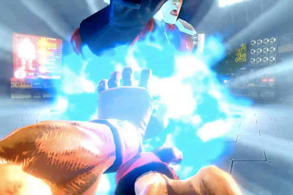 Ultra Street Fighter 2 - Le Hado Mode permet de faire des hadouken avec ses joycon