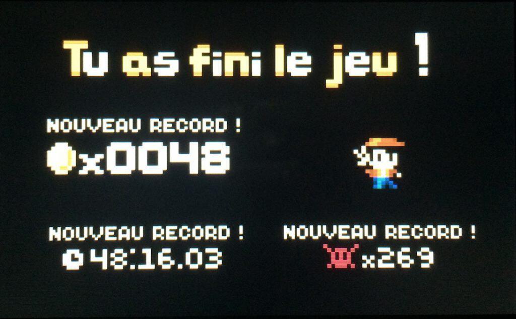 J'ai même réussi à ne pas atteindre 500 morts.