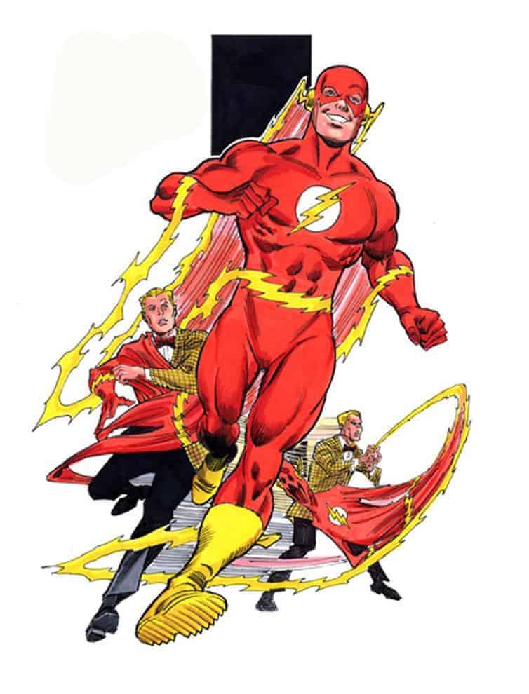 Barry Allen est donc le deuxième Flash