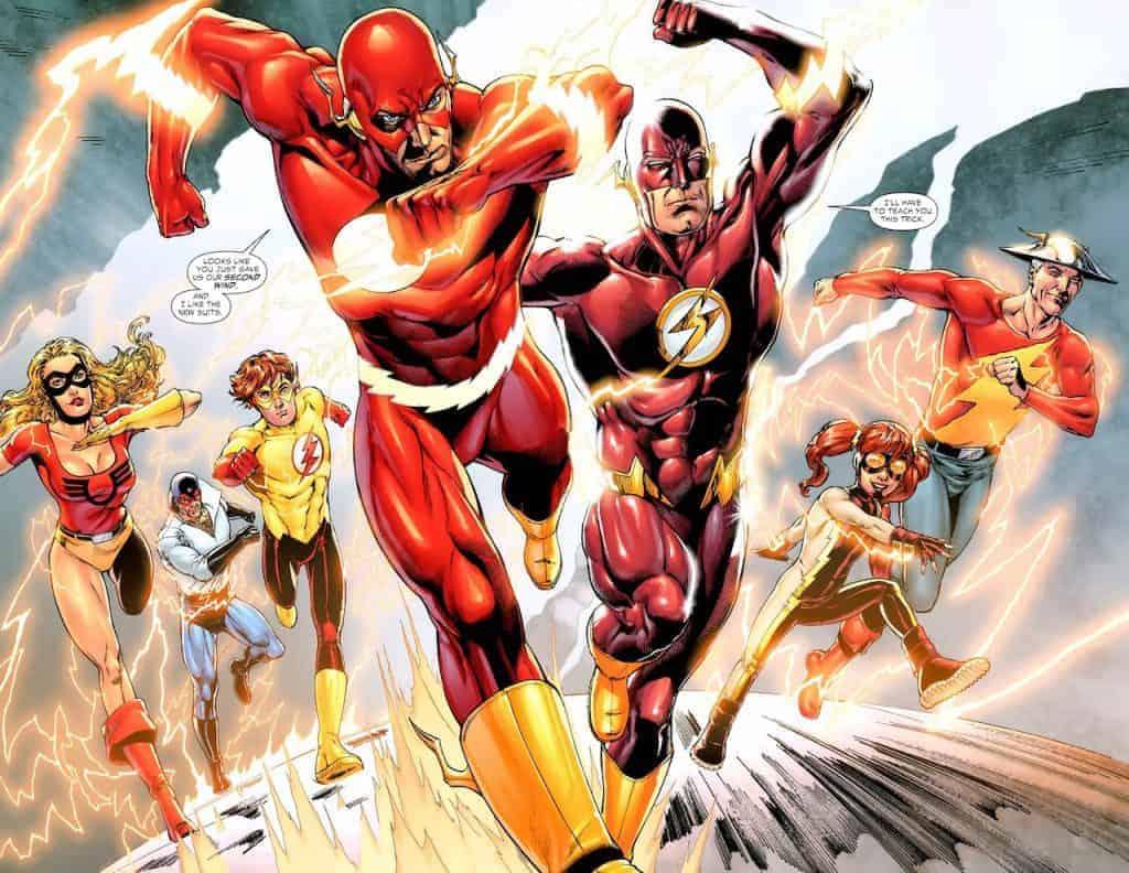 Être Flash ne veut pas forcément dire Barry !