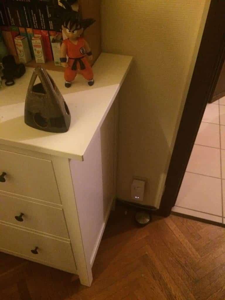 Branchement dans la chambre et j'ai le wifi partout !