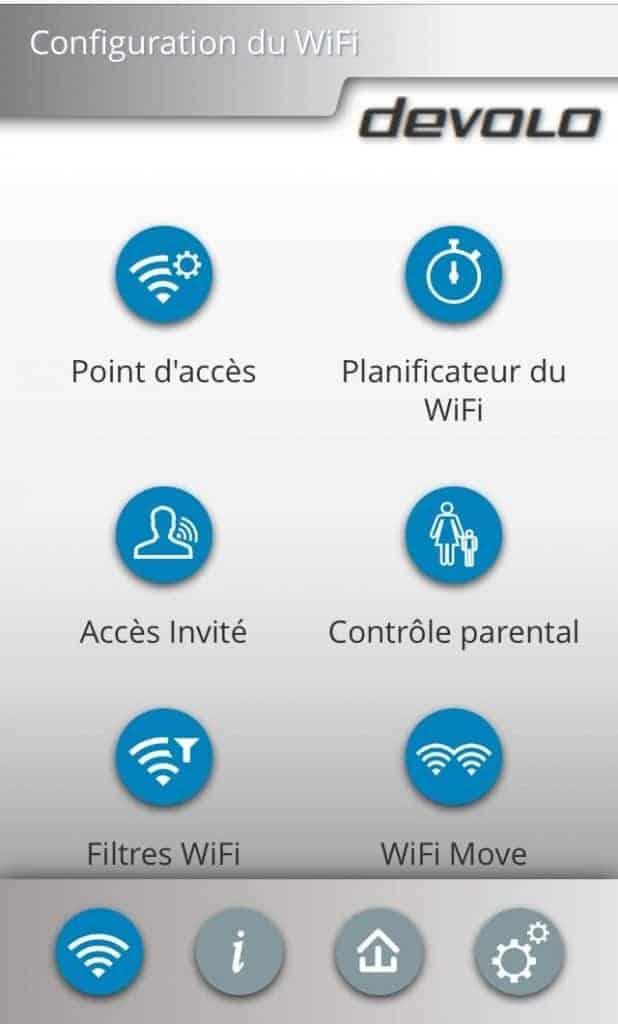 Devolo 550+ - Un contrôle total de votre Wifi