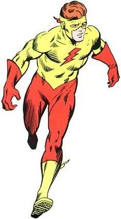 Kid Flash est né.