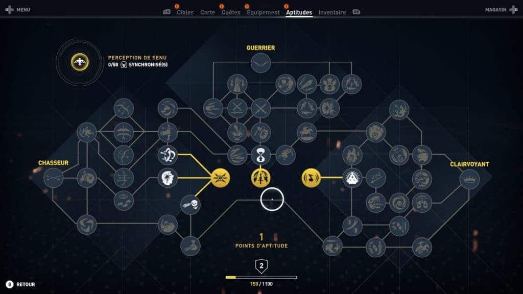 L'arbre de compétence inspiré de Far Cry