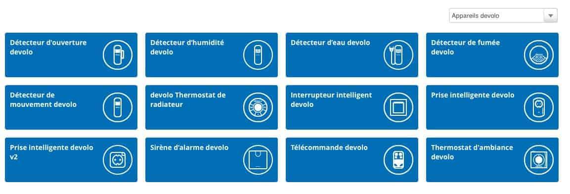 Devolo Home Control - Un large choix d'accessoires.