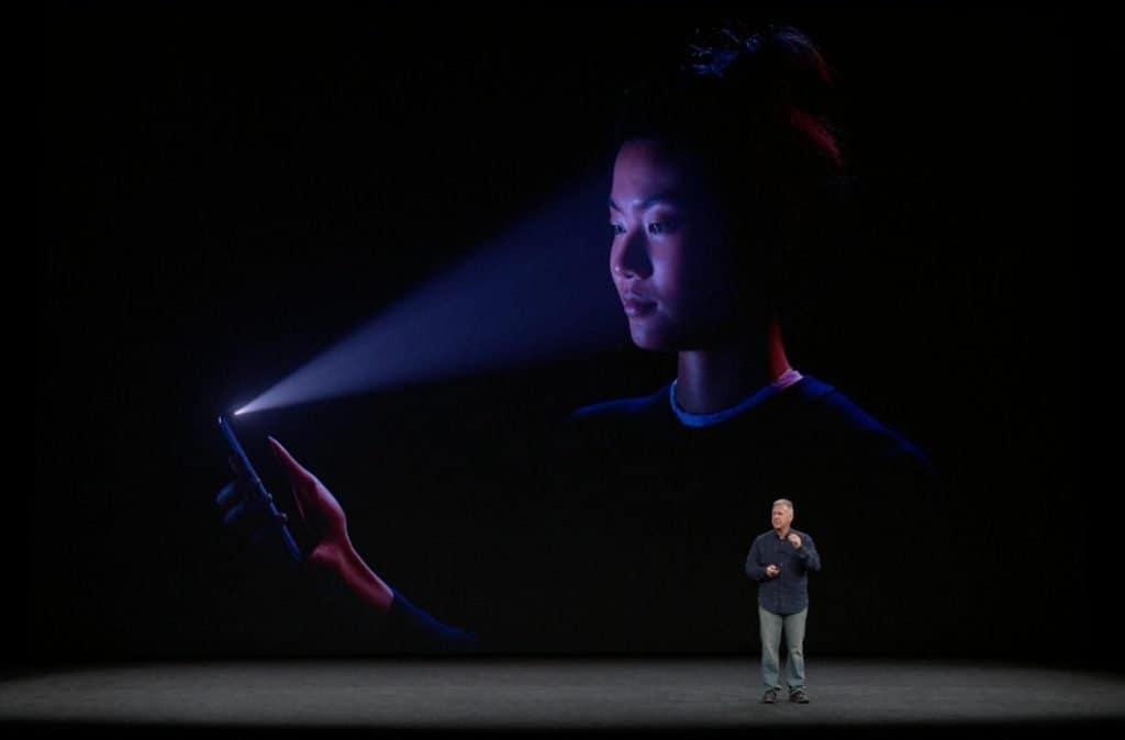 iPhone X et son système de reconnaissance Face ID