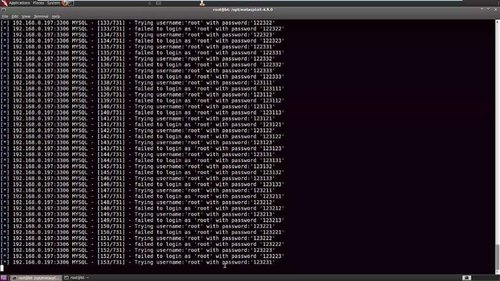 L'attaque par bruteforce permet aux pirates de tester un nombre incroyable de mot de passe très rapidement