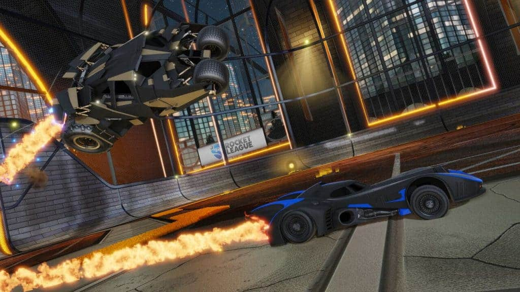 DC Comics & Rocket League une alliance qui me plait !