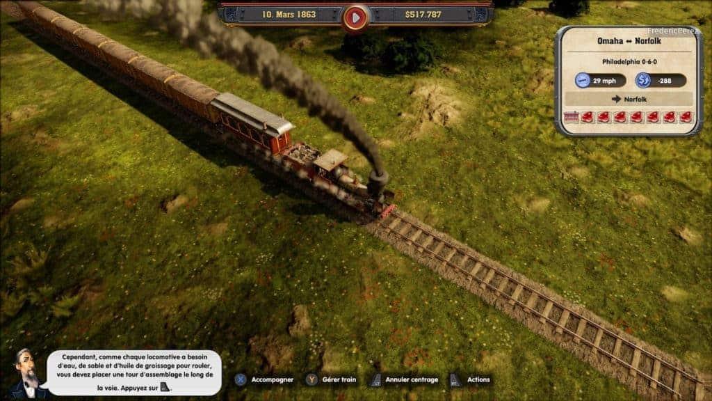 Railway Empire - Un bon niveau de zoom