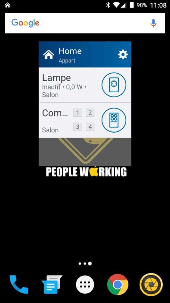 Le nouveau widget change la donne.