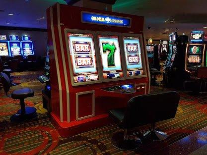Las Vegas - Il y a aussi des machines plus simples, ne vous méprenez pas !
