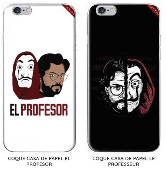 Coque Design - Casa de papel