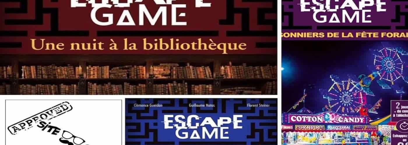 Critique Livres Escape Game 3 Nouveaux Volumes A Prix Mini