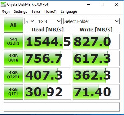 Kingston A1000 - Notre benchmark confirme les vitesses dingues annoncées