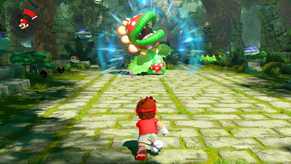 Mario Tennis Aces - Le premier boss, pas si simple