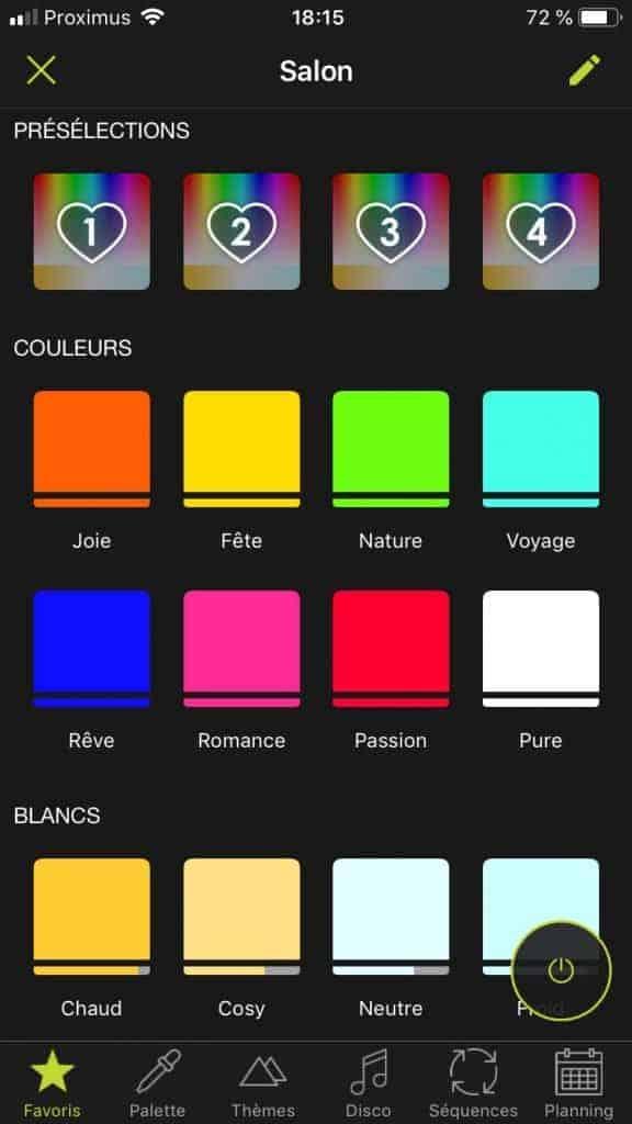 Une app plutôt bien pensée bien que peu esthétique