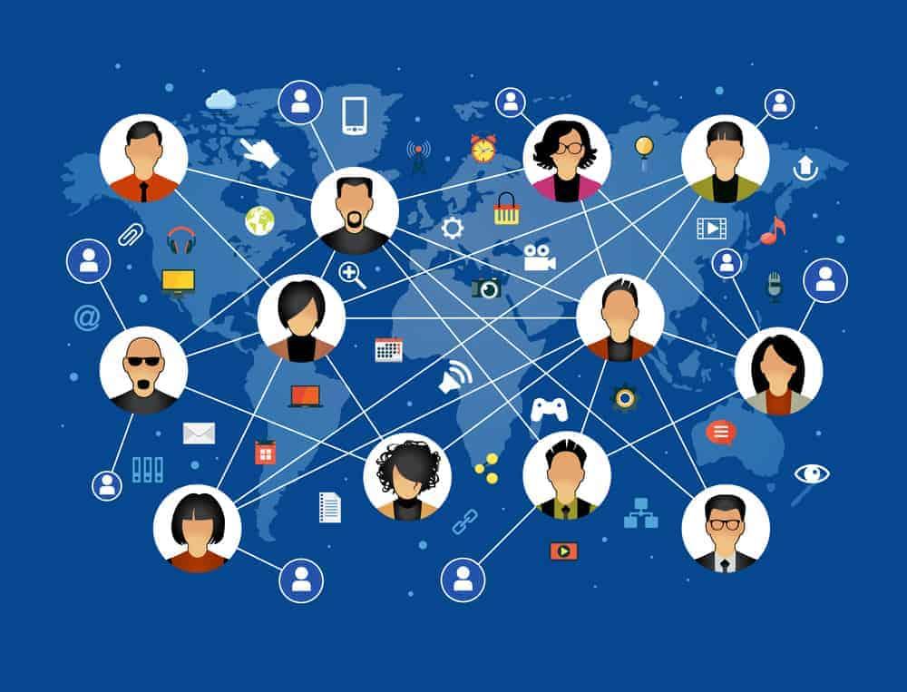 Il faudra trouver les réseaux à la communication de votre projet
