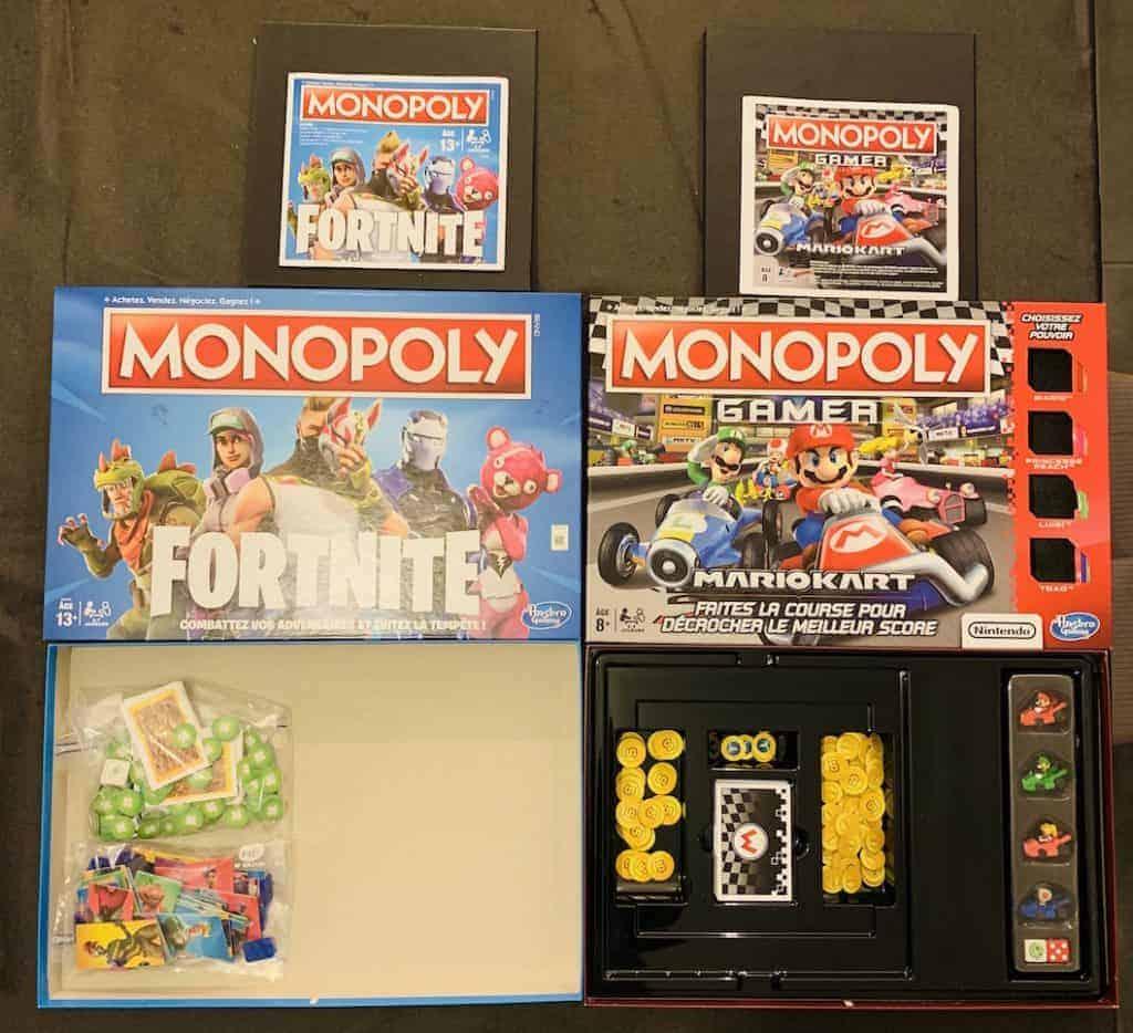 Monopoly Fortnite est clairement radin en packaging
