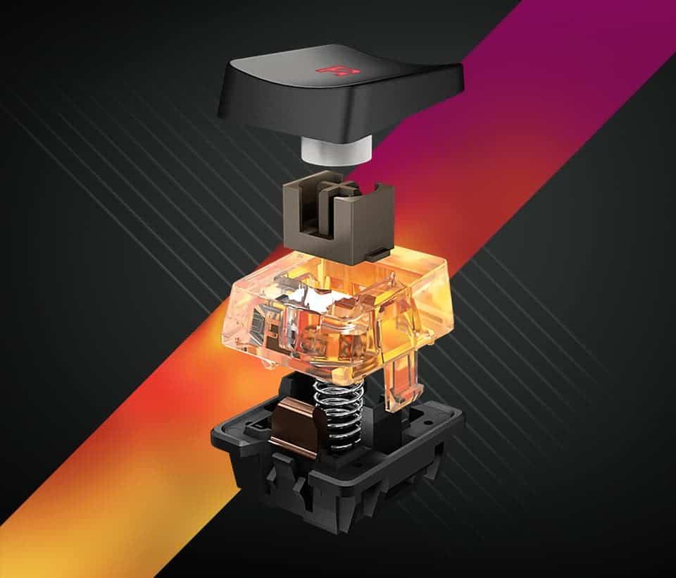 Les nouveaux switch Titan de Roccat