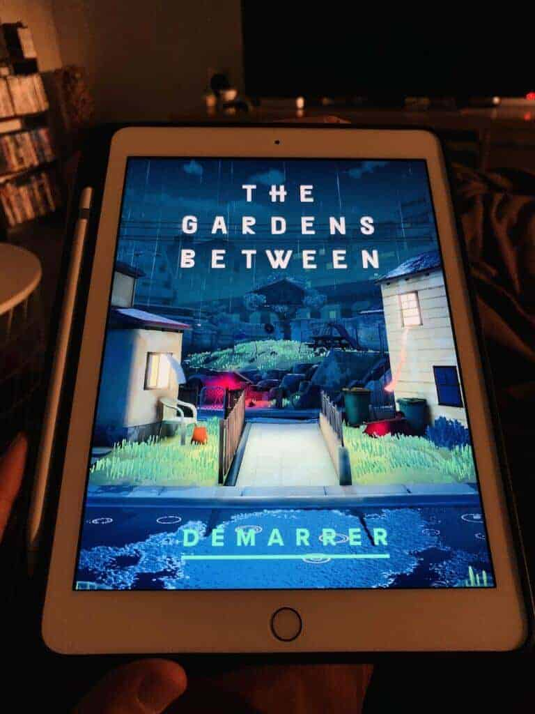 iPad ou iPhone The Gardens Between est un pur plaisir