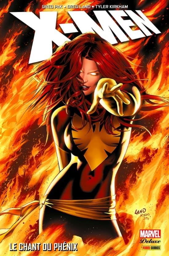 X-Men : Le chant du Phénix - La couverture