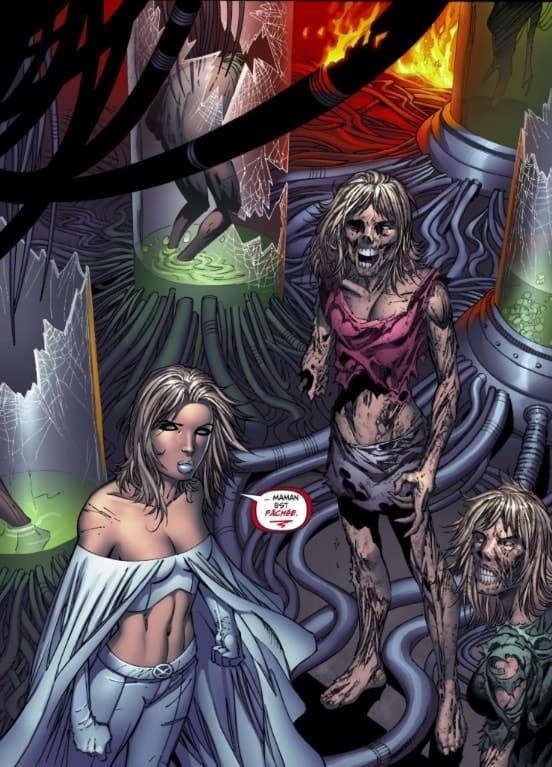 X-Men : Le chant du Phénix - Bon, c'est vrai que les Cuckoos ne pêtent pas la forme.
