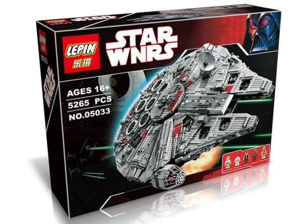 Contrefaçon Lego Star Wars