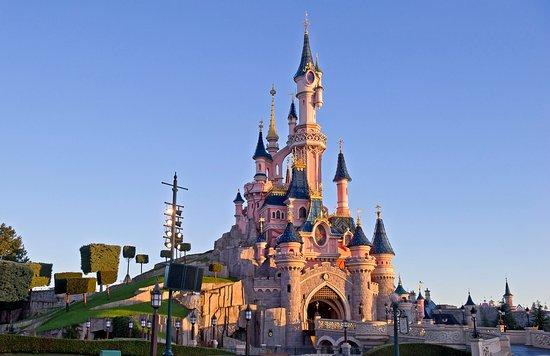 Disneyland et son château emblématique